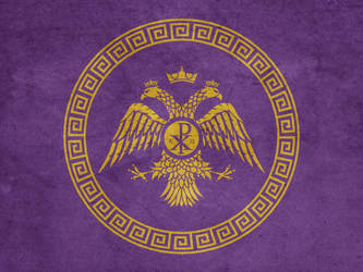 Redesigned Byzantine Flag by Lordnarunh