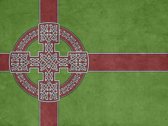 Flag of the Kingdom of the Celts by Lordnarunh