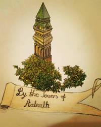 Aaleath tower emblem by Lordnarunh