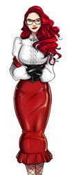 Mistress Myra by coutoo