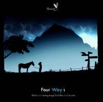 Four Ways - Black by gamarai