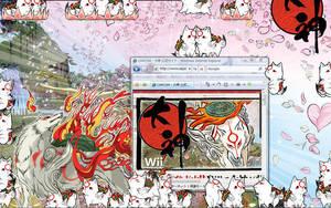 Shimeji Amaterasu by Daphneeeee
