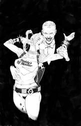Joker and Harley by 2ngaw