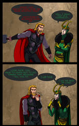GODDAMMMIT LOKI by Res-Gestae