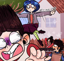 Coraline No! by alicupcake12356