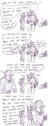 A Night Elf and a Troll enter a party... by SilverSoo