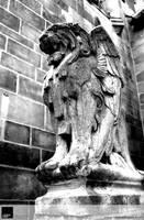 'Goliath' Lion Gargoyle by VisionHaus