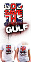 'God Save The Gulf' T-shirt by VisionHaus