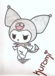 Kuromi by poison-is-my-koolaid
