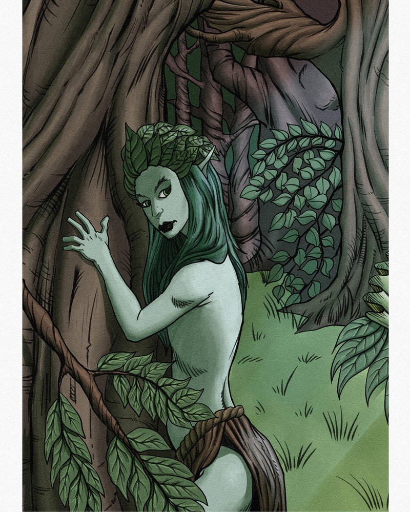 Dryad by PlanetKhaos