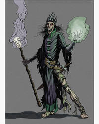 Lich-Inked-colored-lighting by PlanetKhaos