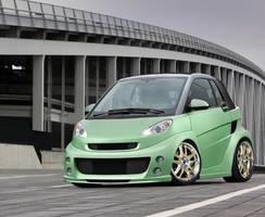 SMART - 'the green machine' by dem-fuzl
