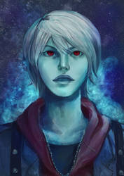 Devil never cry by AquaNoixl