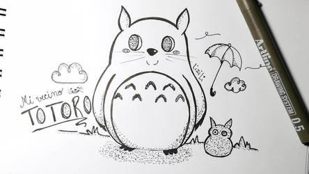 Mi vecino Totoro by Lii07