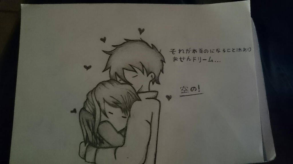How To Draw A Couple Hugging Step By Step