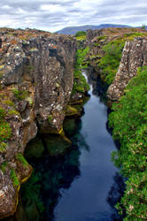 The Blue Chasm by Daemare