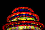 Pagoda of Light by Daemare