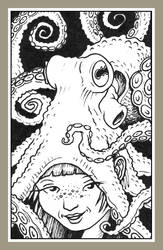 Mini portrait - Octo hat by Rode-Egel