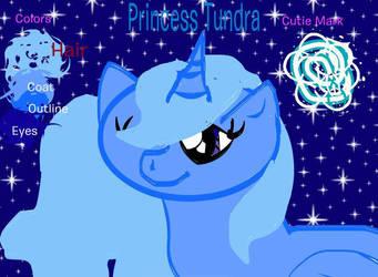 Princess Tundra Referance by rosethorn413