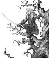 Perched Elf by FilKearney