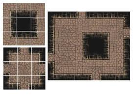 Dungeon Tiles by FilKearney