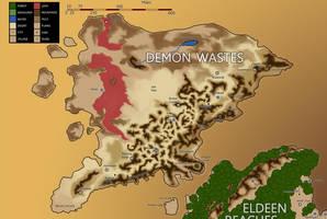 Eberras - Demon Wastes by FilKearney