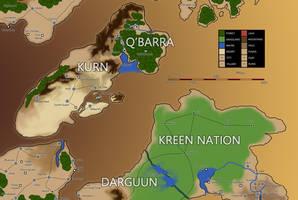 Eberras Q'Barra and Kurn by FilKearney