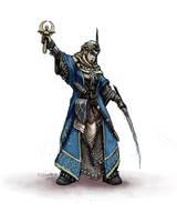 Pathfinder - Kyra the Cleric Study by FilKearney