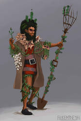 Numenera - Seppenton the Green Finger by FilKearney