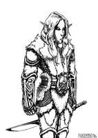 USP - Margant - White Elf by FilKearney