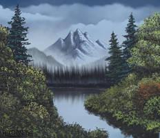 Joy of Painting 1 hour Special: Grandeur of Summer by FilKearney