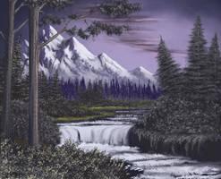 Twilight Cascades by FilKearney