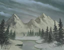 Snowfall by FilKearney