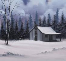 Country Cabin by FilKearney