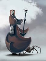 Character Art - Iron Blades - Ivan by FilKearney