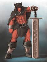 Character Art - Iron Blades - Tortho by FilKearney