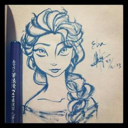 Frozen: Elsa by mk17design