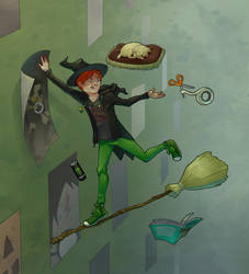 Witchsona Week by Azhren
