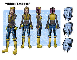 Hazel Character Sheet by Azhren