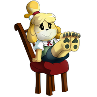 Commission: Isabelle by waffengrunt