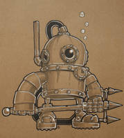 Deep Sea Bot by SpaceCowSmith
