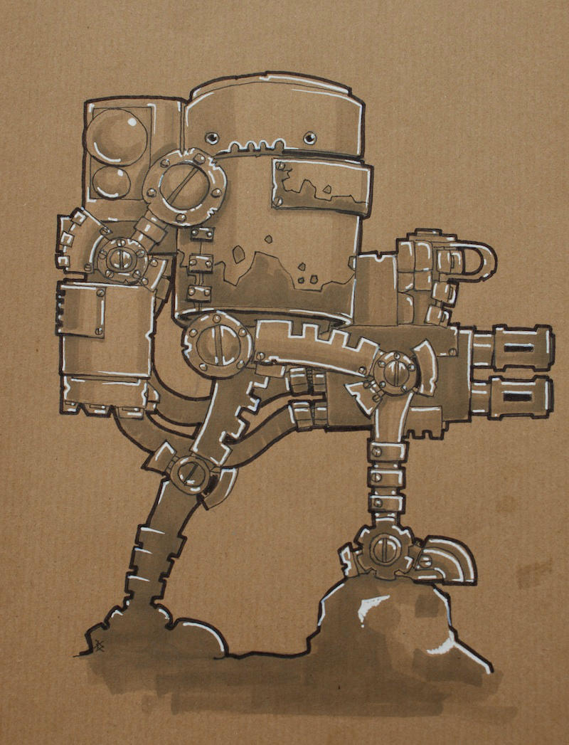 Striderbot by SpaceCowSmith