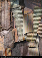 Rusty Sheet Metal 1 by Stickfishies-Stock