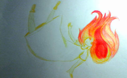 Fire Haired by CorvinCrossroad
