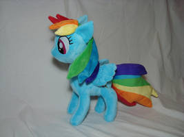 Rainbow Dash plush by PlanetPlush