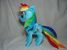 Rainbow Dash plush 2.0 by PlanetPlush