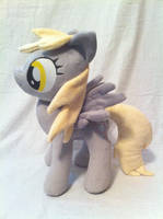 Jointed Derpy Hooves plush by PlanetPlush