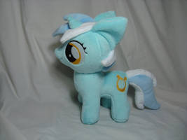 Lyra Heartstrings filly plush w/cutie mark by PlanetPlush
