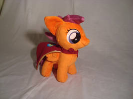 Scootaloo w/cape by PlanetPlush