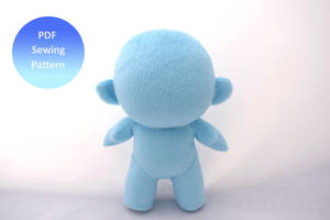Chibi Doll - Pattern Available Now! by PlanetPlush